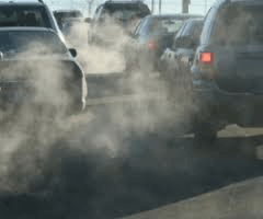 Fines to drivers for Exceeding Exhaust Gases